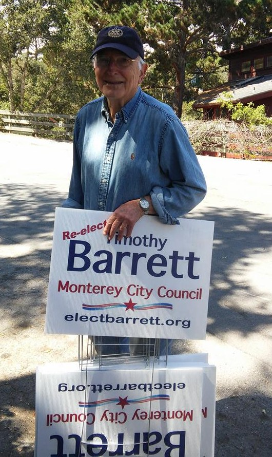 Former Monterey Mayor Dan Albert